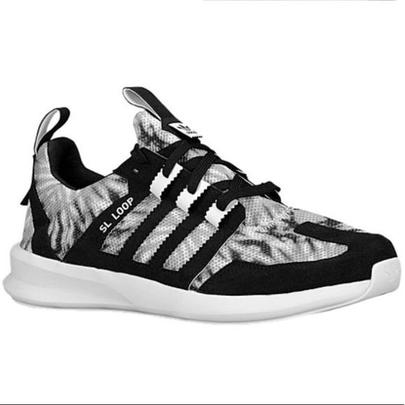 adidas Shoes - 🖤Adidas SL Loop Black Marble Print Running shoes 18bc32bdf7